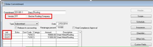 Sage 300 AP Compliance Settings