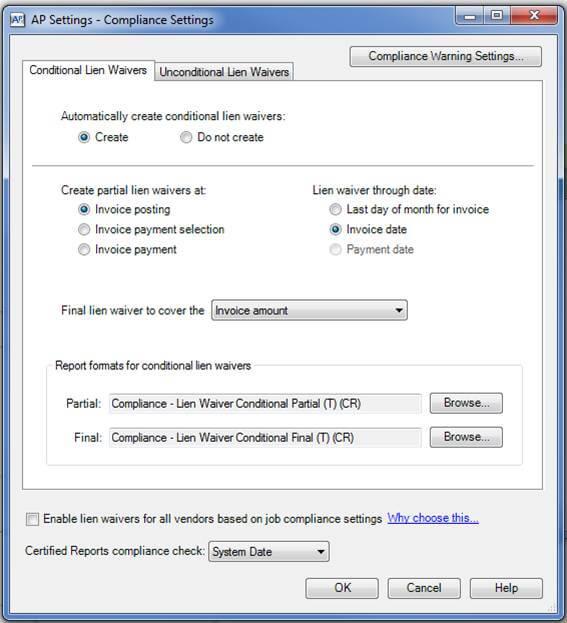ap-compliance-settings