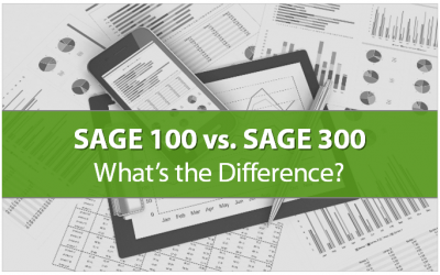 Sage 100 Contractor vs Sage 300 CRE