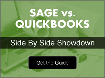 Sage Construction vs QuickBooks Graphic