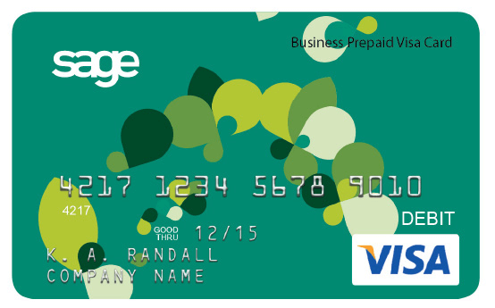 Sage Payment Card