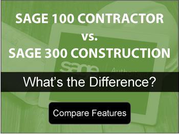 Sage 100 vs Sage 300 Comparison