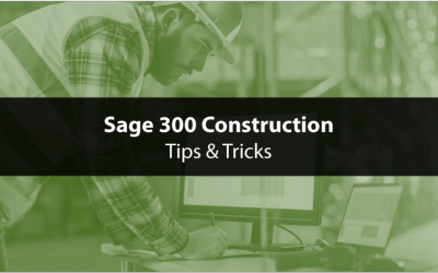 How to Use Sage 300 CRE Equipment Cost Module (EQ)
