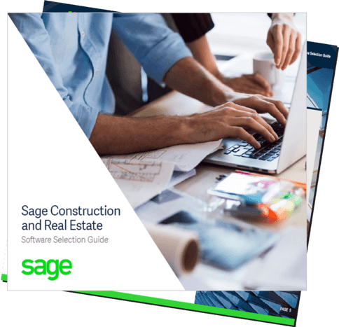 Sage Construction Software Buyers Guide Cover