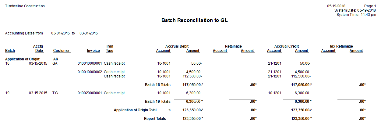 gl batch reconciliation