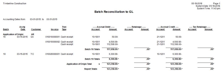 gl batch reconciliation