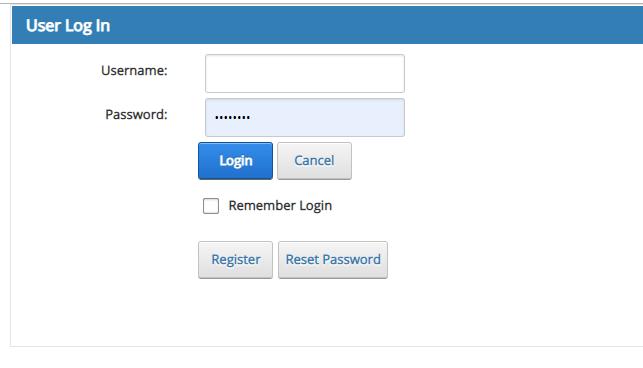 Sage 300 CRE Web Portal Login