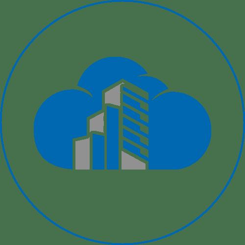 cloud construction icon