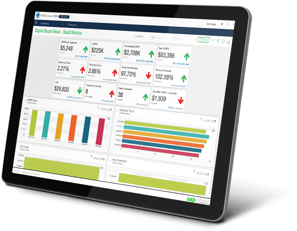 Sage Intacct on a Tablet