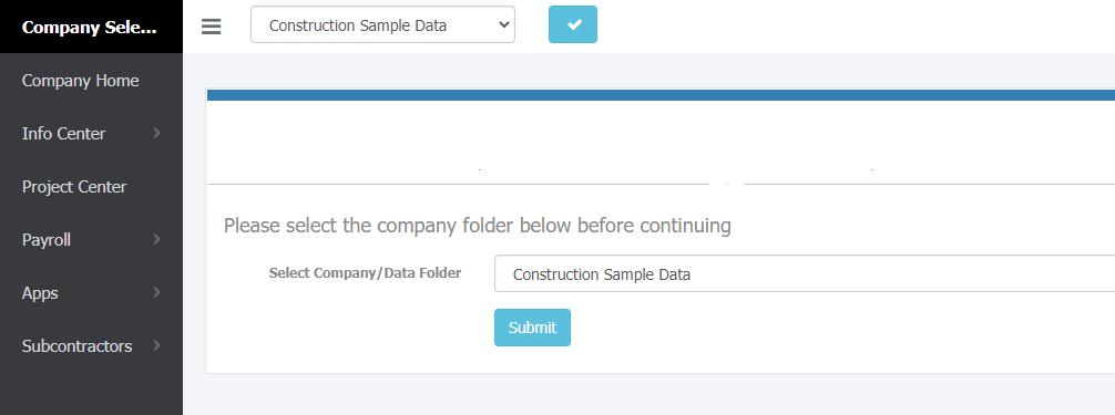 Accordant Web portal company screen